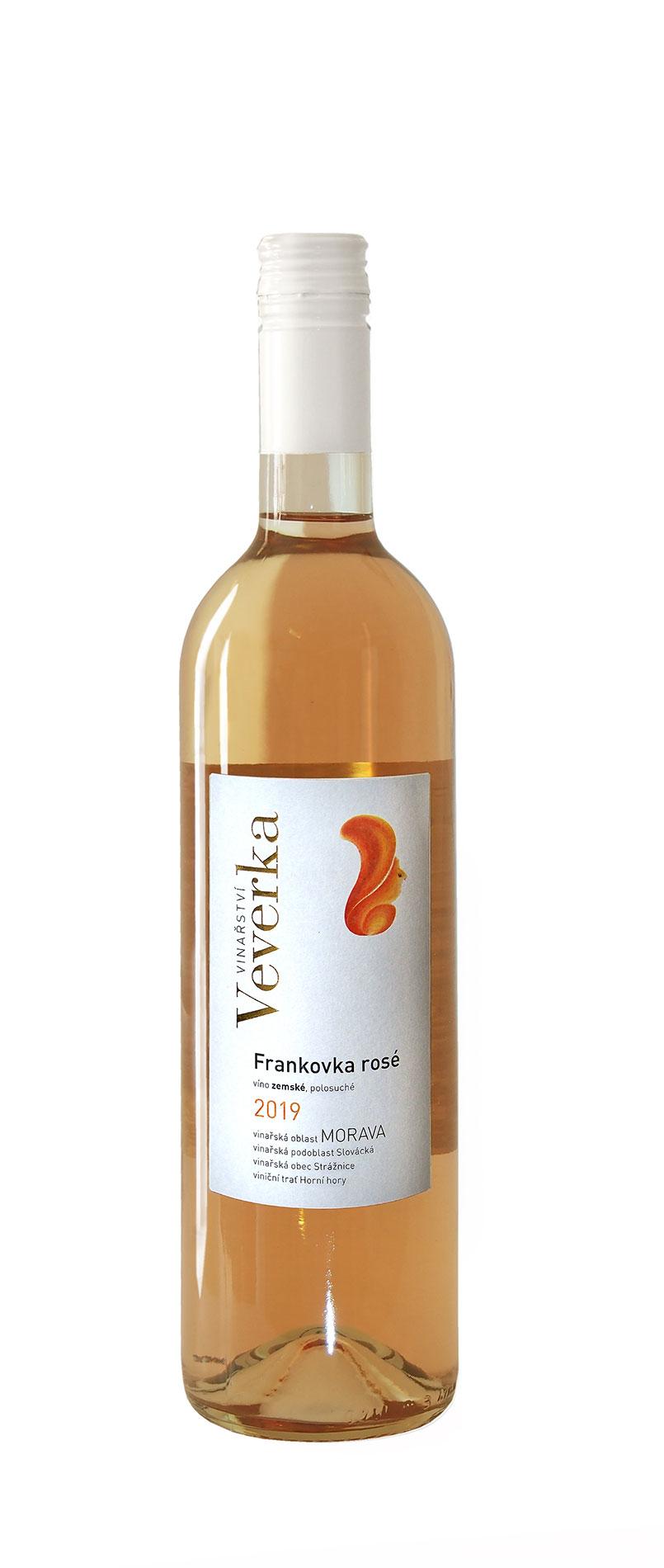 Frankovka rose 2019